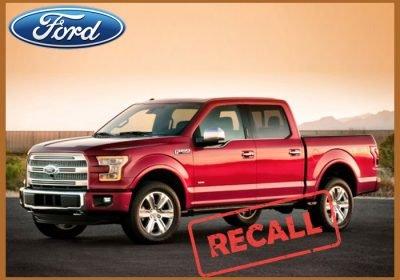 Ford Recalls 2 Mln F-150 Pickup Trucks In North America